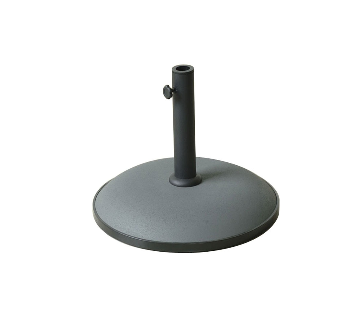 Base parasol Stone cemento color gris 25kg